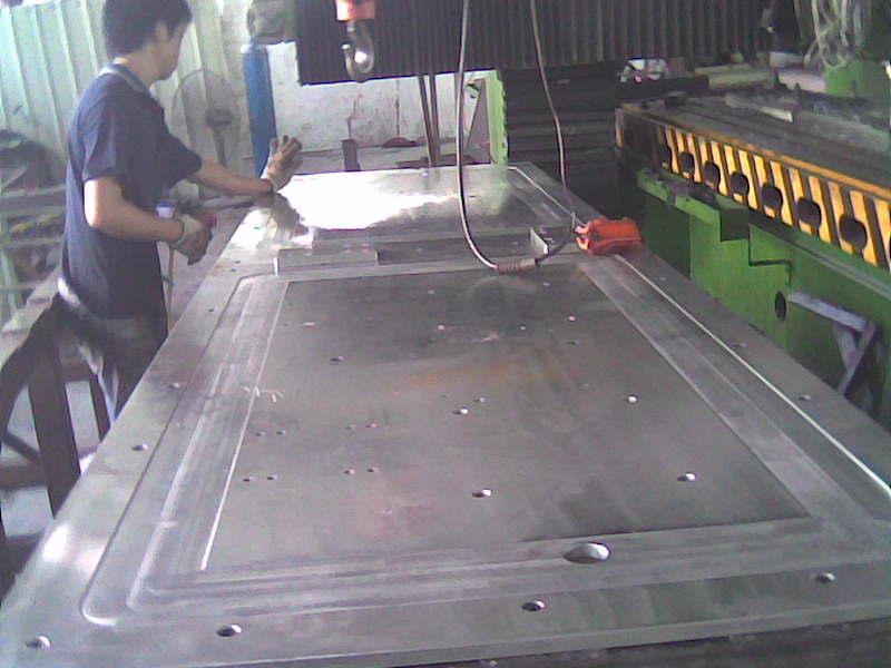 龙门加工基板